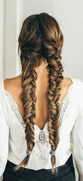 cute braid hairstyle idea