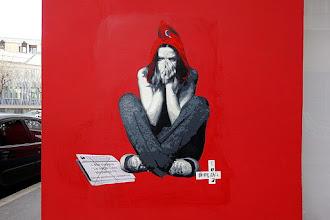 Sunday Street Art : Polar Bear - rue Sainte-Marthe - Paris 10