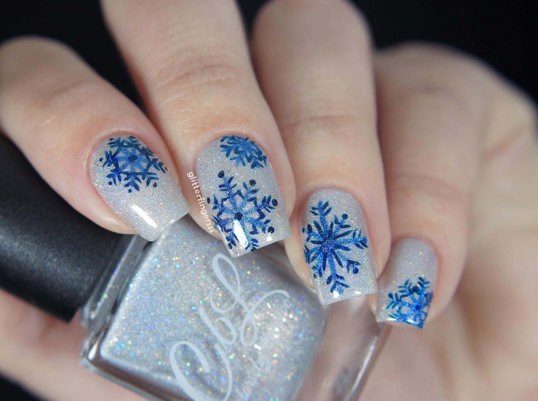 Nail Art | Winter Vibes ~ Glitterfingersss in english