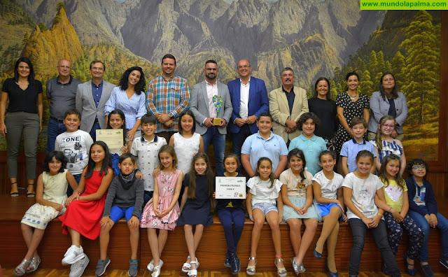 CEIP José Luis Albendea Ganador Concurso -El CEIP José Luis Albendea y Gómez de Aranda gana la quinta edición del concurso 'La Palma Recicla'