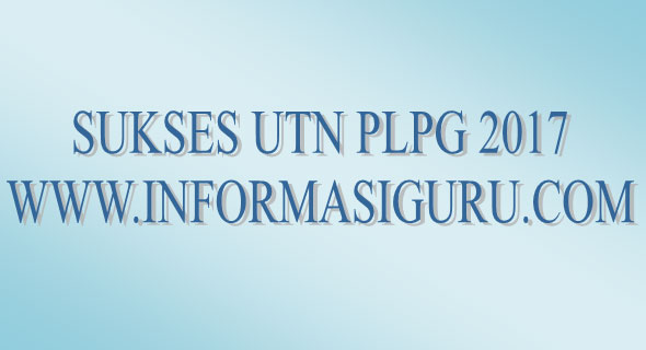 Download Soal Siap UTN PLPG 2017 Bidang Studi Mata Pelajaran Matematika SMA