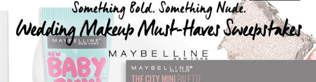 Maybelline Wedding Makeup Giveaway