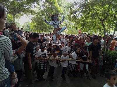 Parade Ogoh-ogoh 2016, Anak Paud kota Denpasar
