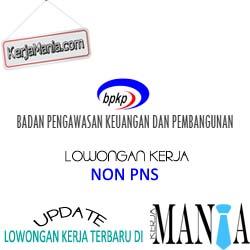 Lowongan Kerja Non PNS Badan Pengawasan Keuangan dan Pembangunan (BPKP)