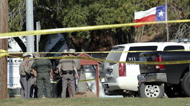 لحظة تفجير كنيسة Texas .. منفذ هجوم كنيسة تكساس .. من هو منفذ هجوم كنيسة تكساس بالصور