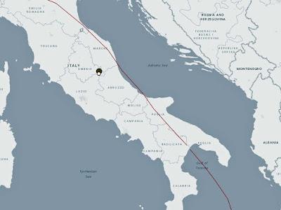 Forte terremoto atinge região central da Itália de 6.2