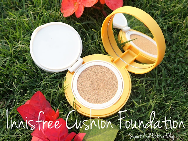 Innisfree Water Fit Cushion Foundation India Review