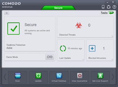 برنامج 2020 Comodo مكافح الفيروسات الاحترافي المجاني