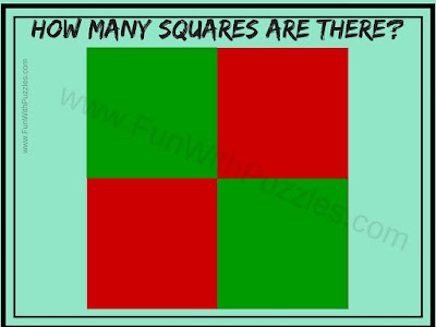 Brain Teaser to Count number of Squares