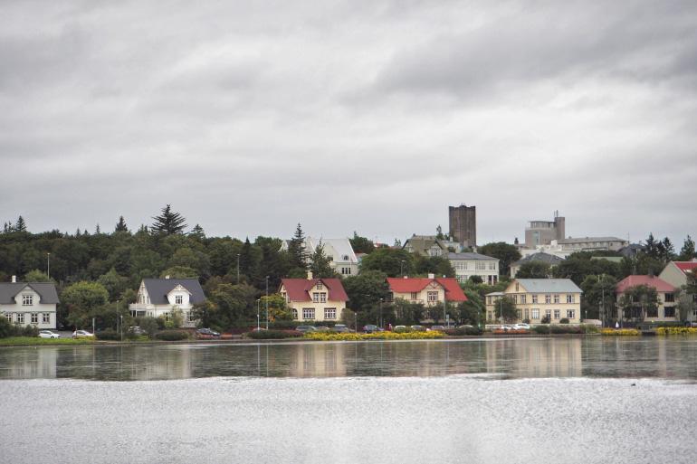 La ville de Reykjavik en Islande