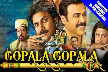 Gopala Gopala 2018 Hindi Dubbed 480p HDRip 350mb