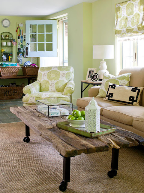 Green Living Room Designs: Modern Furniture: Decorating Living Room With Mint Green