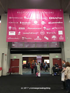 RootsTech 2017 sponsors
