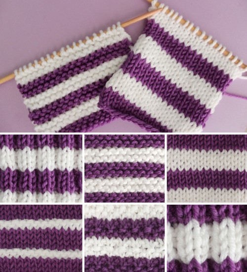 Best Tips for Knitting Stripes - Free Pattern + Video Tutorial