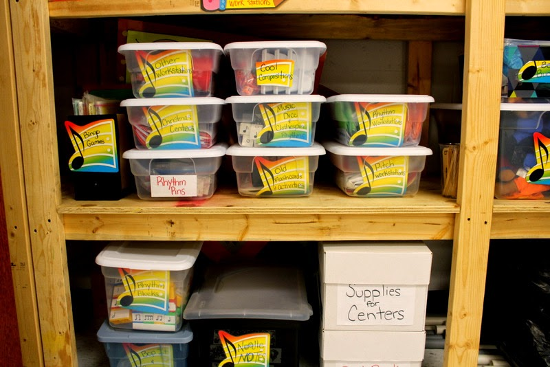 Music workstations are and exciting way to get students motivated in music class.  Learn how to organize and get started with centers in your music class in this blog post.  Picking groups, keeping time, and arranging your space are just some of the topics you'll discover.  Don't wait!  Start workin' the workstations in your classroom!