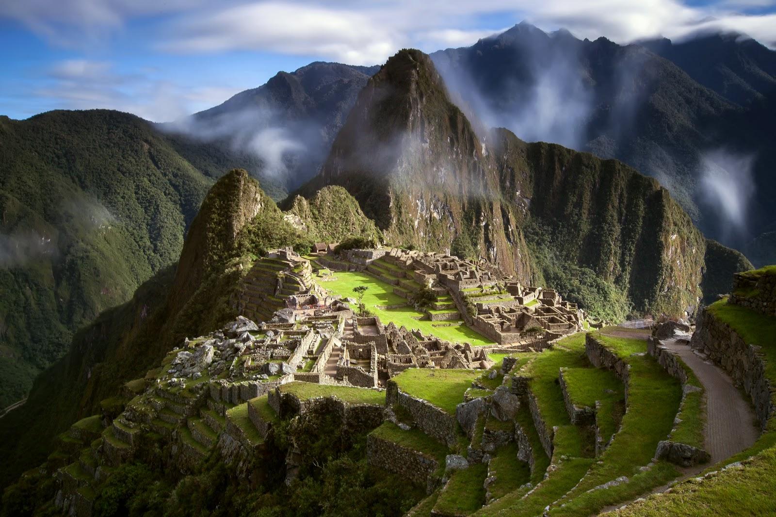 Machu Picchu, Peru HD Background