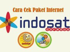 Cara Cek Sisa Paket Internet Indosat Ooredoo (Im3, Mentari)