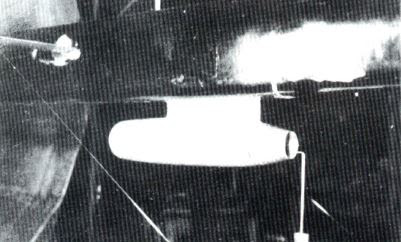 Luftwaffe 46 et autres projets de l'axe à toutes les échelles(Bf 109 G10 erla luft46). A%2Bwind%2Btunnel%2Bmodel%2Bof%2Ban%2BHeinkel%2BHe219%2Bfuselage%2Bwith%2Bwith%2Bjet%2Bengine