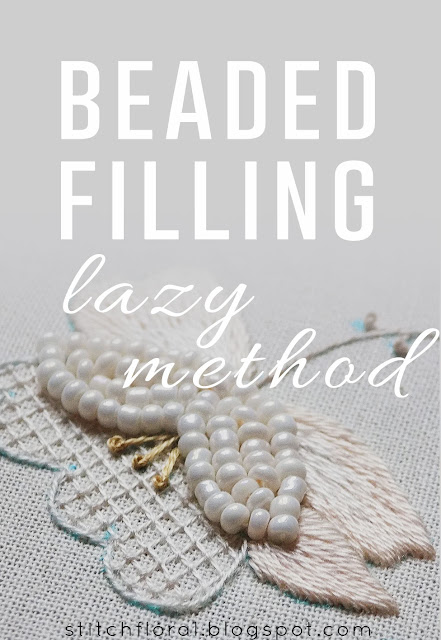 Beaded filling tutorial