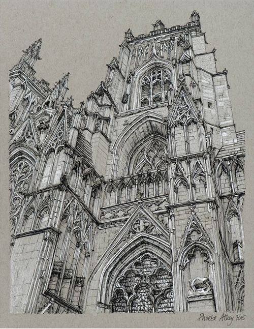 01-York-Minster-Cathedral-Phoebe-Atkey-Architecture-Urban-Drawings-and-Interior-Design-Sketches-www-designstack-co