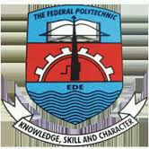 Federal Polytechnic, Ede 2016/2017 ND Regular Part-Time Application Form Out