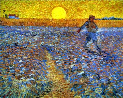 http://www.wikiart.org/en/vincent-van-gogh/the-sower-sower-with-setting-sun-1888