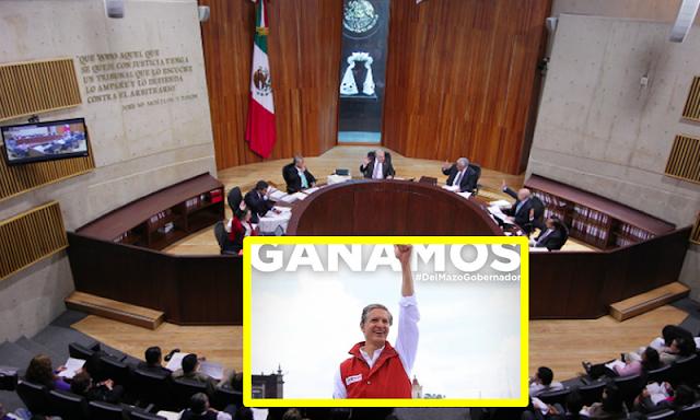 TEPJF rechaza por unanimidad cancelar sesión el IEEM; órgano estregará constancia de mayoría a Alfredo del Mazo