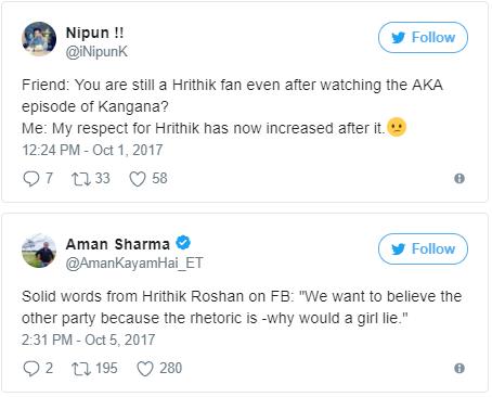 Hrithik Roshan Finally Gets Back At Kangana And Check People's Reaction Here