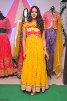 Pujitha in Yellow Ethnic Salawr Suit Stunning Beauty Darshakudu Movie actress Pujitha at a saree store Launch ~ Celebrities Galleries 036.jpg