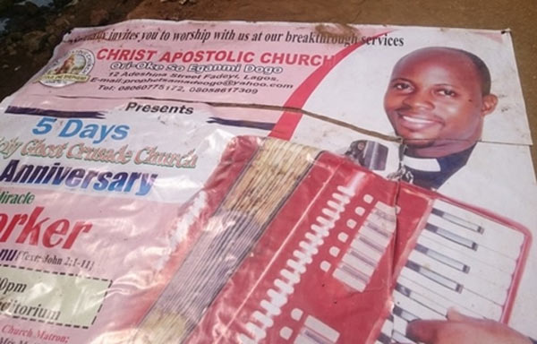 Pastor sleeps with church members using charms, scales wall as police arrives