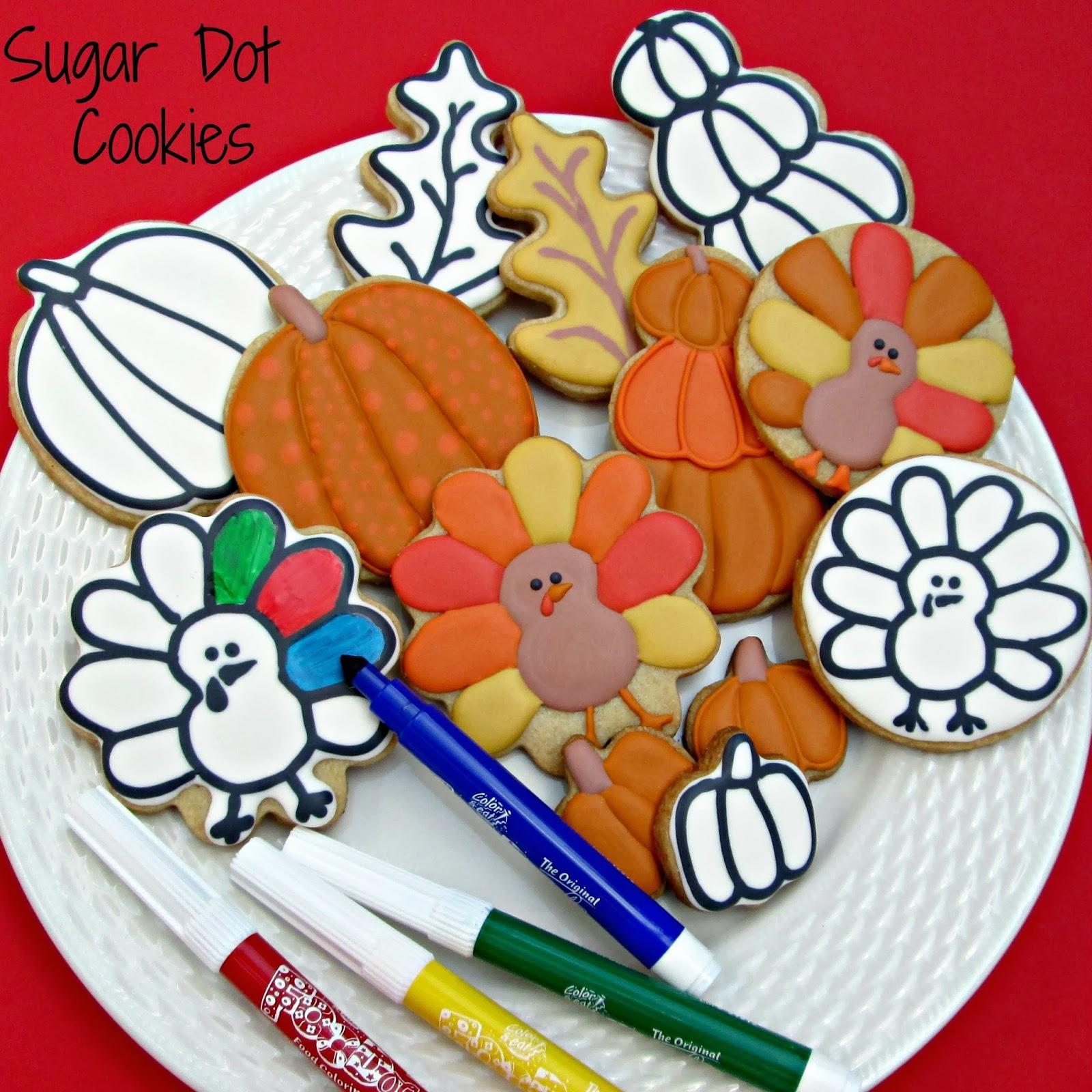 sugar dot cookies october 2013