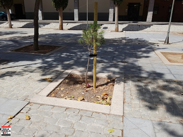 salamancaenbici.com salamanca en bici Garrido plaza de Barcelona