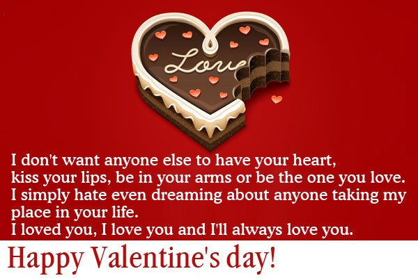 I Love You Quotes Sms : ... valentine wishes quotes images to express love to your loved ones