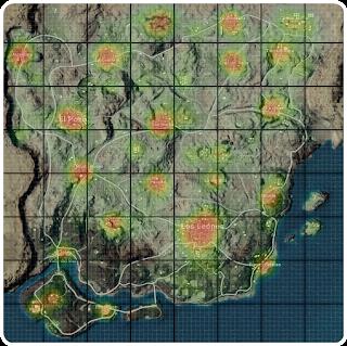 7 Daerah Penghasil Loot Item Terbaik di Miramar