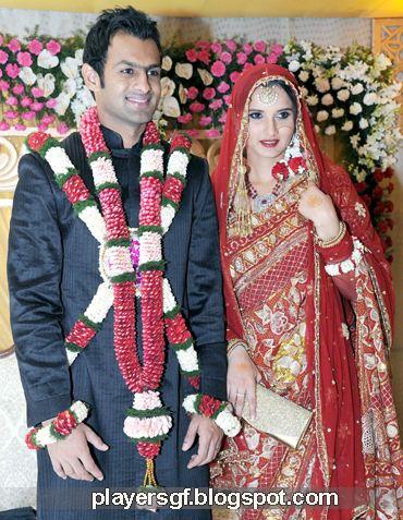 Sania Mirza And Shoaib Malik Marriage Photo