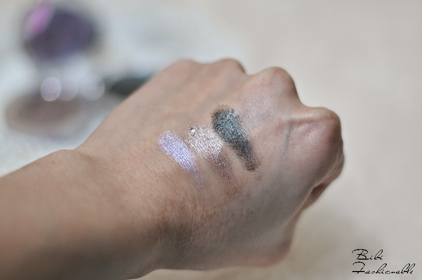 essence metal glam eyeshadow 20 21 22 Swatches