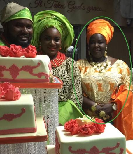 bukky black daughter wedding