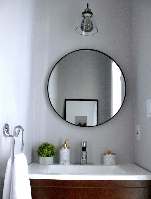 easy-powder-room-updates-para-paints-glamour-harlow-and-thistle-before-and-after