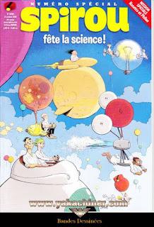 Numéro Spécial, Spirou, fêtes de la science !, numéro 4096, année 2016