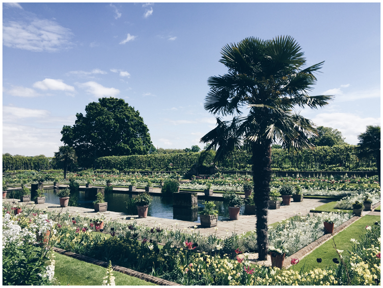 travel diary, london, kensington palace gardens