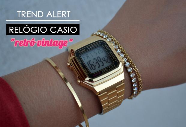 3c9da54fa1c Marcela Ferreira  Relógio Retrô Casio A1178   Vintage