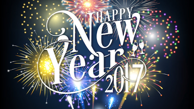 Happy New Year  - Bonne Année - Bom Ano Novo - Feliz Año Nuevo 2017