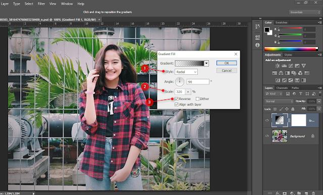 Cara Cara Mudah Membuat Vignette Di Photoshop Part 2