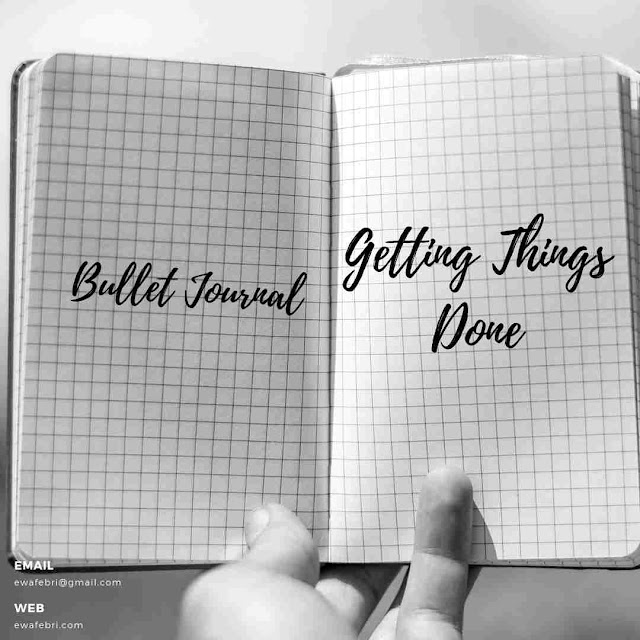 Bullet Journal Indonesia getting things done