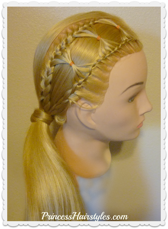 Bow Tie Braid, Braided Hairstyle For Long Hair - Hairstyles For ...