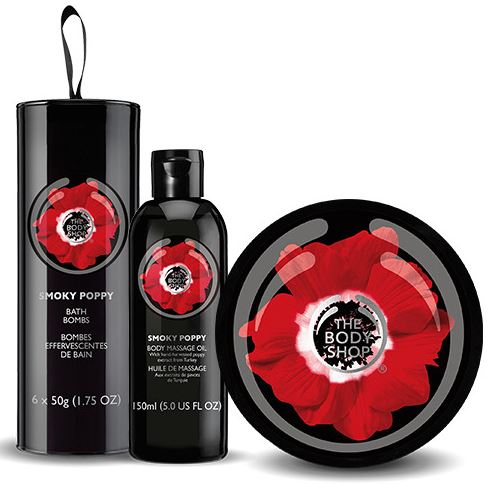 This week I'm obsessed with... The Body Shop Smoky Poppy!
