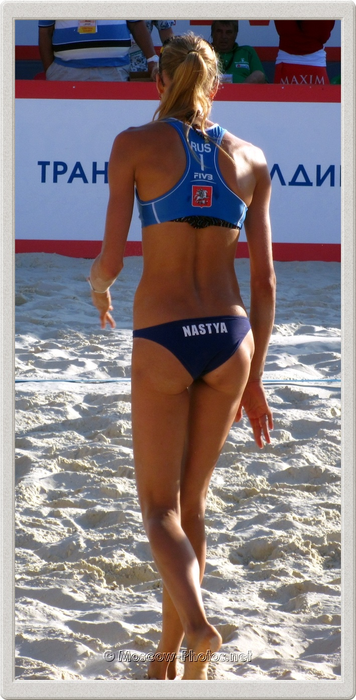 Russian Beach Volleyball Player Anastasia Vasina (Barsuk)
