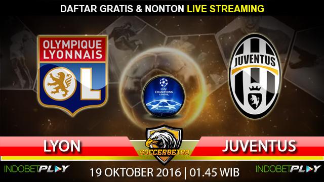 Prediksi Lyon vs Juventus 19 Oktober 2016 (Liga Champions)