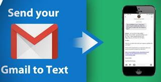messaggi Gmail via SMS