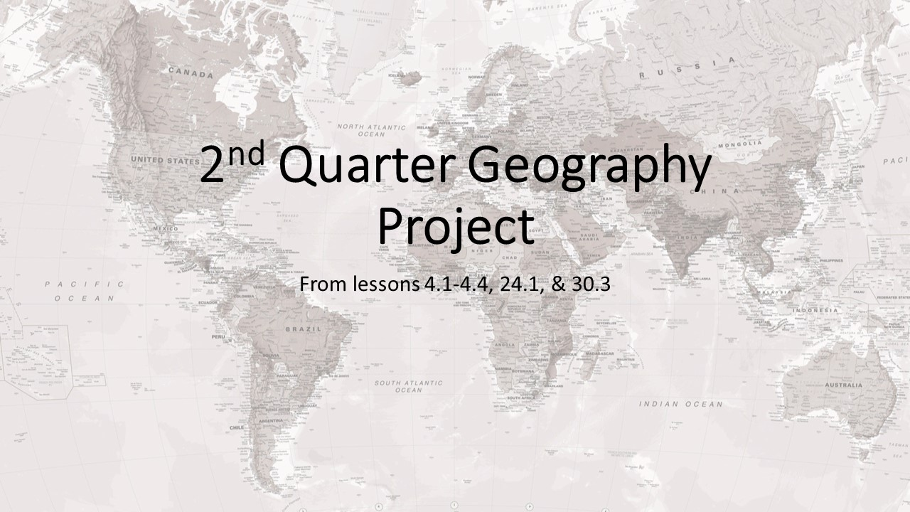 geography project Five themes of geography want to get your kids engaged with the five themes of geography well, you've come to the right place included in this unit you will find.
